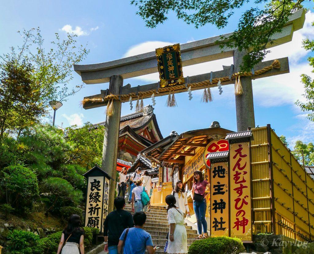 京都 1 清水寺 恋愛運の聖地 地主神社